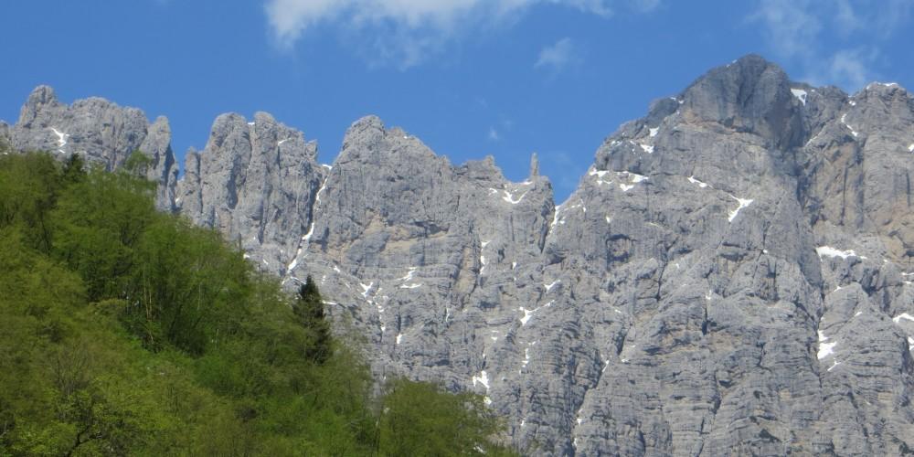 Dal rifugio 7. Alpini a Belluno