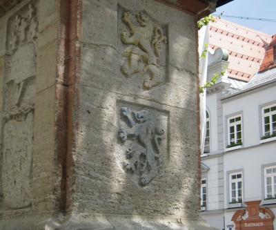 Wolfratshausen stemma della città