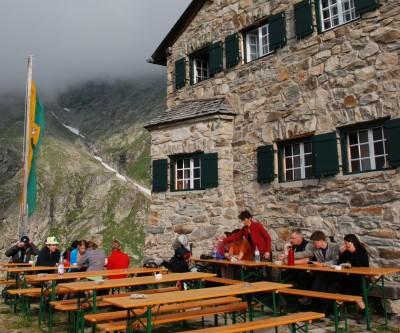 Friesenberghaus o Rifugio Friesenberg
