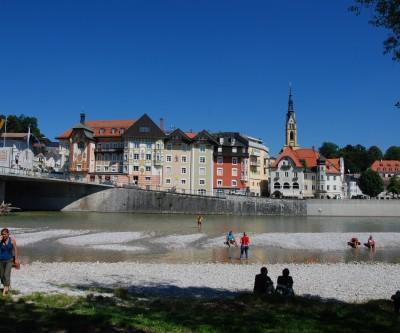 La bella cittadina di Bad Tölz