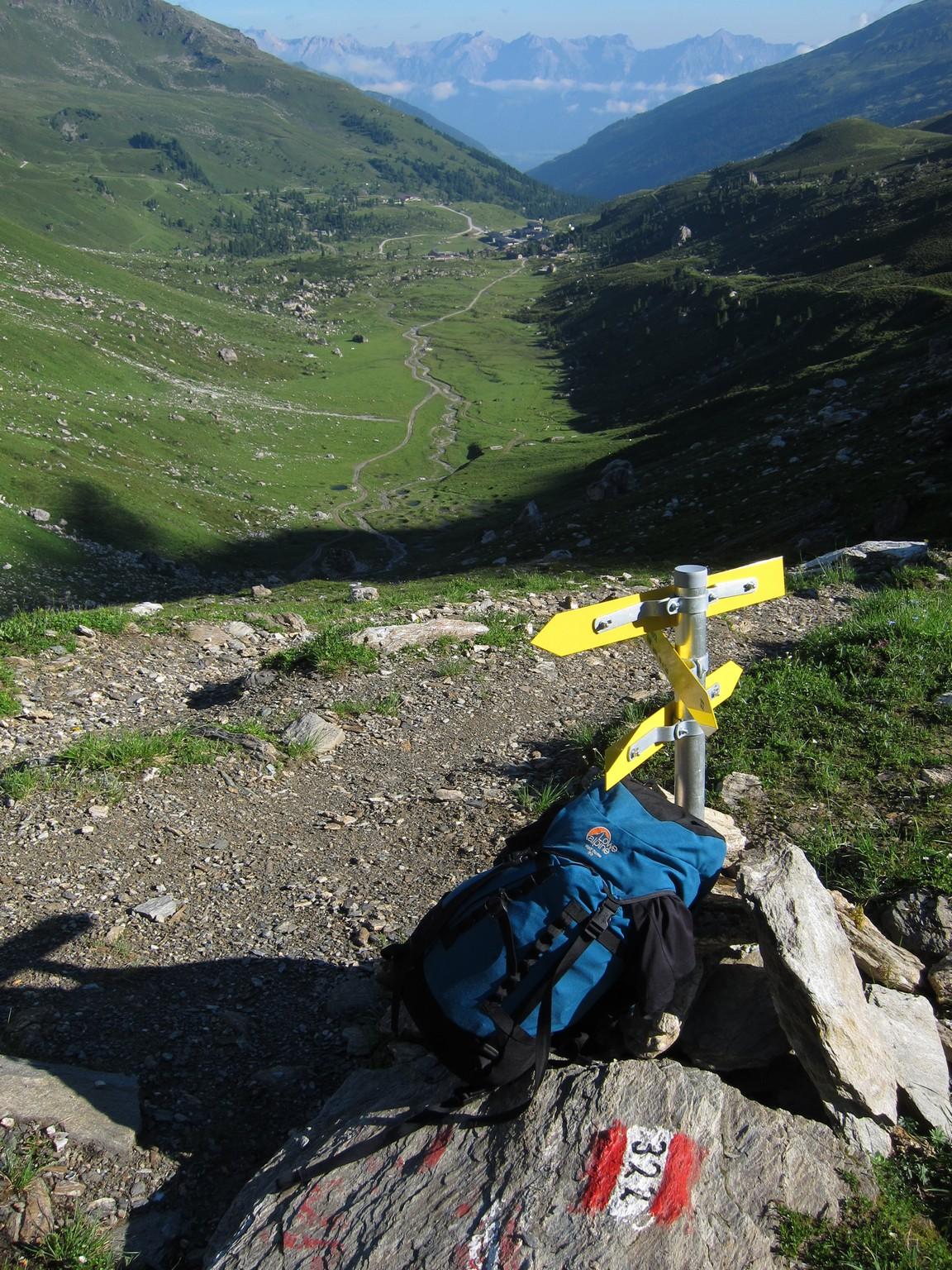 Veduta panoramica sul Karwendel