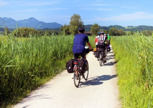 via claudia augusta ciclabile in bicicletta